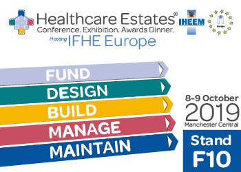Find us at the Healthcare Estates Exhibition!