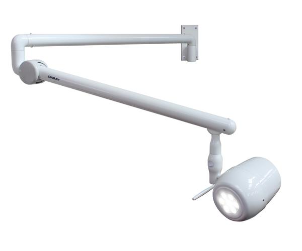Wall Mounted Examination Lamps : Daray Medical - X400 - LED Examination Light