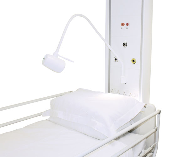 BH230 LED Panel Mount Patient/Bed-Head Light with Flush Fitting Installation Kit